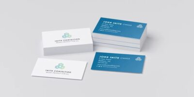 Guide to create modern business cards